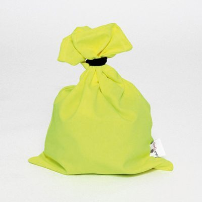 holdtightly yellow sunbeam large lingerie bag
